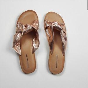 Jeffrey Campbell Rose Zocalo Slide Sandal Size 8